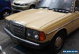 Mercedes W123 for Sale