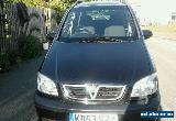 2003 VAUXHALL ZAFIRA DESIGN 16V BLACK SPAIRS OR REPAIRS  for Sale