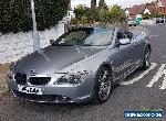 2005 (55) BMW 630I Convertable Auto **Private Plate inc for Sale