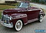 1947 Ford Mercury Convertible for Sale
