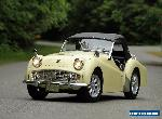 Triumph: TR3 for Sale