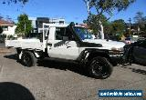 2009 Toyota Landcruiser VDJ79R 09 Upgrade GX (4x4) White Manual 5sp M for Sale