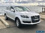 AUDI Q7 MY07 2007 MODEL TDI  METALLIC SILVER AUTOMATIC LARGE FAMILY CAR for Sale