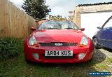 Street KA Convertible Sports Car Red 2004 1.6 for Spares or Repair no MOT for Sale