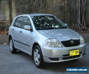 2004 Toyota Corolla Seca Hatchback Manual for Sale