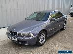 2003 BMW 525i SE SALOON MANUAL PETROL,GREY,LEATHER,VERY CLEAN for Sale