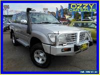 1999 Toyota Landcruiser HZJ105R GXL (4x4) Silver Manual 5sp M Wagon for Sale