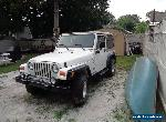 2000 Jeep Wrangler sport for Sale