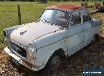 1962 morris major deluxe not triumph  austin standard for Sale