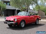 1981 Fiat 124 Spider Spider 2000 for Sale