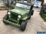 Willys Jeep 1953 cj3b restore project  for Sale