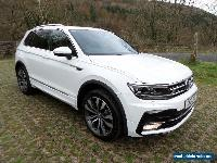 *Volkswagen Tiguan 2.0TDI R-Line DSG 4Motion White (start-stop)* for Sale