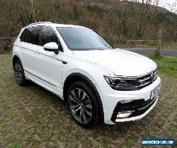 *Volkswagen Tiguan 2.0TDI R-Line DSG 4Motion White (start-stop)* for Sale