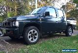 EXCELLENT OPPORTUNITY, TRADIES Nissan D21 Dual Cab 5sp Utility 08/2018 $0.99 bid for Sale