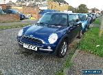 Bmw mini low miles mot drives spares or repairs for Sale