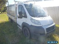 2009 Fiat Ducato MAXI JTD 2.3L TURBO Diesel M Cab Chassis Traytop Truck Damaged for Sale