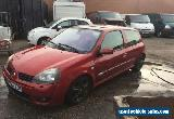 Renault Clio dci, 182 rep, barn find, project, spares or repairs for Sale