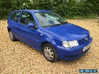 2001/X VOLKSWAGEN 1.4 POLO MATCH BLUE. Part Ex to clear for Sale