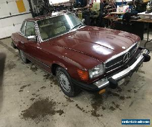 Mercedes-Benz: SL-Class 380sl for Sale