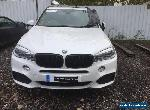 66 2016 BMW X5 40D M SPORT SALVAGE DAMAGED REPAIRABLE EASY REPAIR CAT D  for Sale