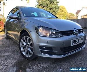 2013 VOLKSWAGEN GOLF GT TDI 150 DSG AUTOMATIC. SILVER, ONE OWNER FULL HISTORY for Sale