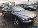 2003 Volvo S60 D5 2.4 Diesel Unrecorded Salvage Light wing Damaged Drive Away for Sale