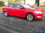 FORD MONDEO MK4 TITANIUM X  2009 2.2 TDCI 175 BHP HATCHBACK RED for Sale