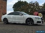 "2011 AUDI A5 2.0 TDI 170 BHP S LINE BLACK EDITION IBIS WHITE FULL HISTORY 19""  for Sale"