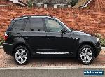 BMW X3 SPORT IN BLACK 3.0 AUTO AUTOMATIC 4x4 with only 89,000 Miles. for Sale