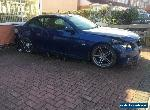 Bmw 320i m sport convertible damaged repairable for Sale