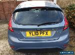 Ford Fiesta TDCi Zetec 5dr Avalon Blue for Sale