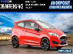 2016 FORD FIESTA 1.0 ZETEC S RED EDITION 139 BHP - FREE INSURANCE!!! for Sale