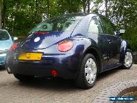 VW Beetle 1.6L Petrol 2002 ,Metallic Dark Blue ,7 MONTHS MOT, 89,210 MILES   for Sale