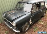MINI 1969 ROUND NOSE , UNREG , RUSTY GOOD FOR PARTS  for Sale