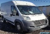2010 FIAT DUCATO JTD II MAXI HIGH ROOF LWB 2.3L TURBO DIESEL LIGHT DAMAGED IVECO for Sale