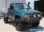 2001 TOYOTA HILUX 3.0 DIESEL 4X4 UTE -Not Triton Navara Rodeo Dual Cab Courier for Sale