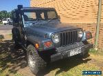 jeep wrangler tj Manual 99 Bargain 4x4! running great!! W for Sale