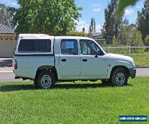 2003 TOYOTA HILUX UTE  2.7L  4X2 DUAL CAB, TOW BAR, CANOPY. for Sale