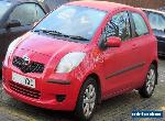 TOYOTA YARIS DIESEL 1.4 D-4D TR 3DR RED 2008 91K MP3/AIRCON MANUAL for Sale