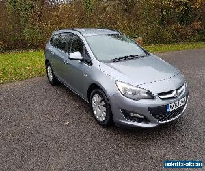 2013/63 vauxhall astra exclusive cdti ecoflex ss for Sale