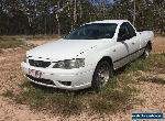 FORD FALCON 2006 BF UTE 6CYL 4.0 LPG ONLY, COLUMN AUTO for Sale
