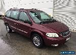 2001 chrysler grand voyager 7 seats auto for Sale