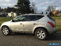 Nissan: Murano SL for Sale