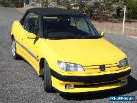 Peugeot 306 Convertible 1997 Automatic for Sale