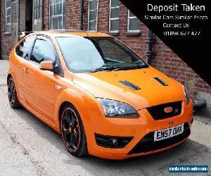 Ford Focus ST3 3 Dr Orange Manual Amazing Spec 35,000 Miles 302bhp FSH RS Looks for Sale
