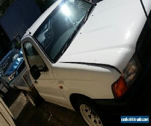 2001 FORD COURIER FLAT TRAY UTILITY for Sale