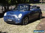 MINI COOPER S 2005 6 SPEED AUTOMATIC SUPERCHARGED for Sale