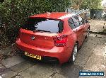 64 (2014) BMW 120D X DRIVE, M SPORT, 2 MILES, 4X4, DAMAGED SALVAGE for Sale