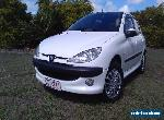 Rego & RWC Peugeot 206, 2003 manual with COLD aircon - just north of Brisbane  for Sale