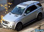 MERCEDES-BENZ ML63 AMG 7G-TRONIC SILVER, BLACK LEATHER, FULL DEALER HISTORY for Sale